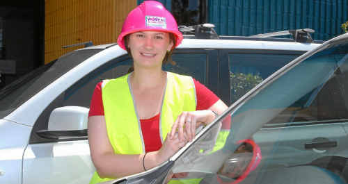 """Kaitlyn Venton """"will give anything a go once"""" and is looking forward to starting a career in mining. She plans to find out more at the Women into Mining (Underground Coal) Information seminar at Mackay Harbour."""