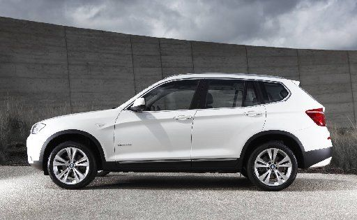 The new mid-size BMW X3 is now about as big as the original X5.