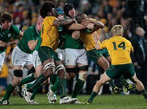 Australia versus Ireland - RWC 2011