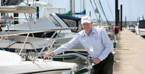 Harvey World Travel Mackay owner John Cooney enjoys boating and fishing and makes the most of the weather, the beauty and the community feel of his hometown, Mackay.