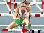 WORLD BEATER: Sally Pearson in action at the World Championships in Daegu, Republic of Korea.