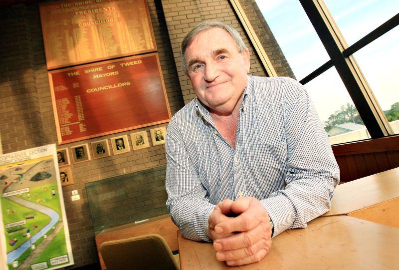 Cr Warren Polglase vows that council will work its