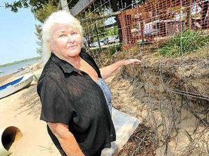 Erosion turning tourists away