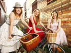 Hayley McEwan, Caroline Cavanagh and Corrin Lambie are promoting a fashion cycle.
