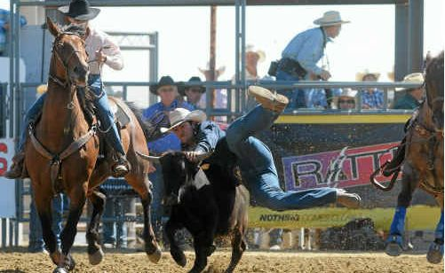 TEENAGE SUCCESS STORIES: Clay Gordon has had a number of recent successes at rodeo events and will compete at the National Rodeo Finals in Ipswich this weekend. INSET: Megan Pohlman has proven herself to be strong competition in the open classes at a number of rodeos.
