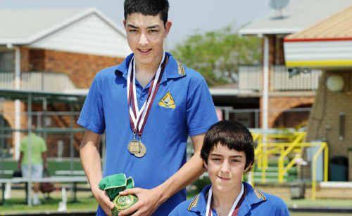 Twins Joel and Josh Andersen won the Queensland All Schools Cup.
