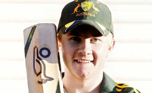 Marburg cricketer Sam Truloff is carrying extra supplies to ensure he tastes the best of Indian cricket life.