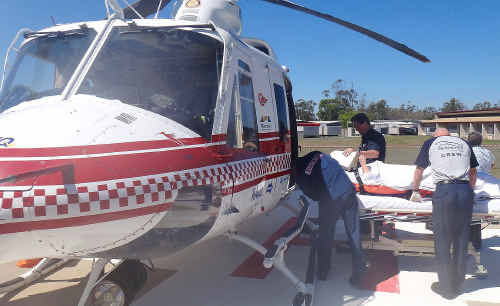 The RACQ CQ Rescue crew was kept busy across the region yesterday.