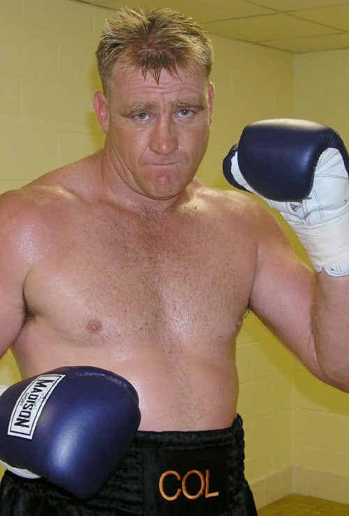 Emerald fighter Colin Wilson.