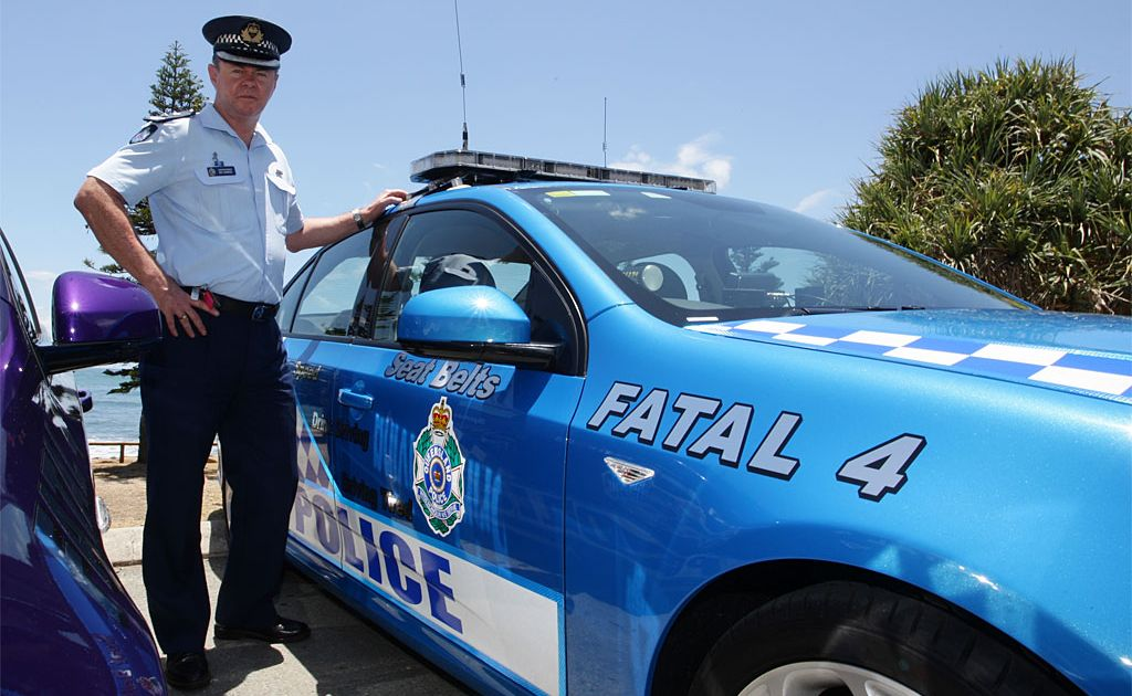 Police Superintendent Ben Hanbidge defended an officer who drove at 146kmh in an 80kmh zone