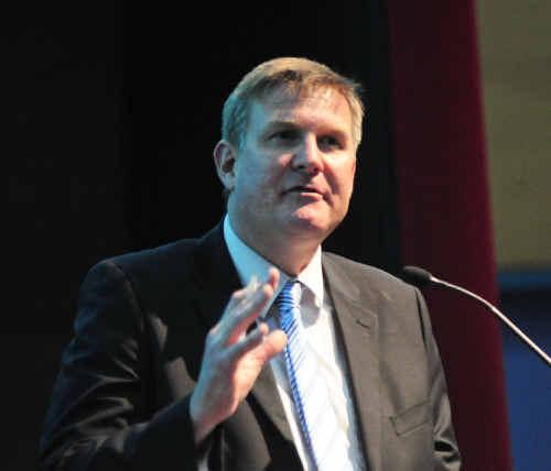 SCU Head, Professor David Lynch.
