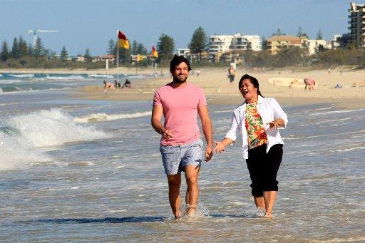 Faith Johnson and Nathanael Barnes are off to Fiji.