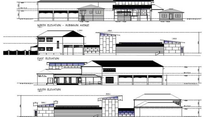 Plans of the extensions to the Grafton Regional Gallery