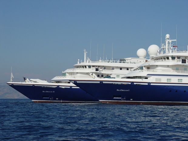 Both SeaDream yachts are identical, carrying a maximum 112 guests served by 95-crew.