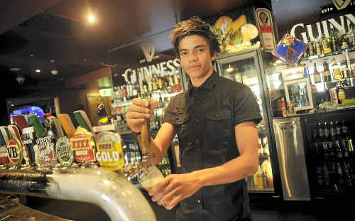 Ben Goring says a polite word goes a long way in a pub.