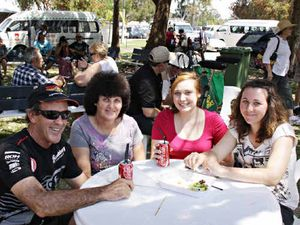 Sun shines for Seafood Festival