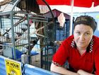 Owner of The Old Miners Diner at Ebbw Vale Beki McCrindle at the cages that housed now deceased cockatiel Jo Jo.