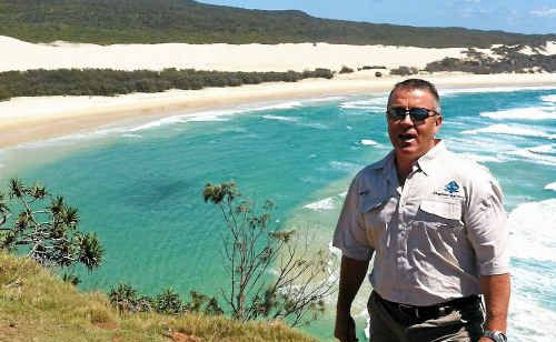 Kingfisher Bay Resort general manager David Hay says the resort on Fraser Island is striving to cement a place in the Gladstone region.