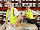 Bob Cameron and Dave Ogle are excited about their new Bunnings deal.