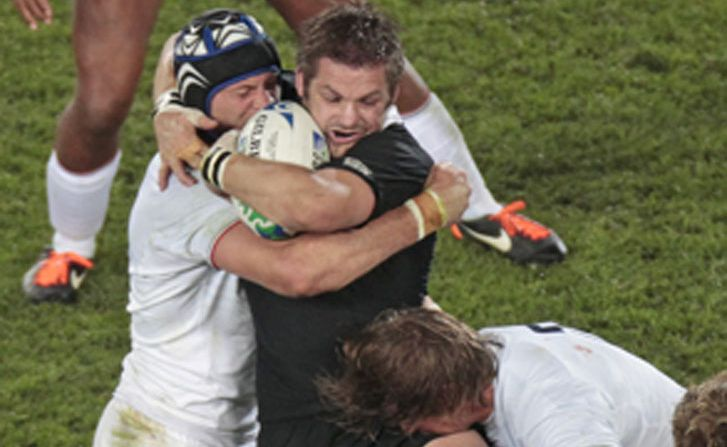 All Black captain Richie McCaw, seen here playing against France, is in the New Zealand squad to play the Wallabies on Sunday.
