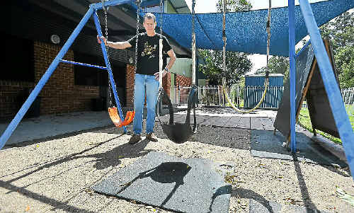 Neighbourhood House's Grant Geytenbeek disheartened by misbehaving youths, who are targeting the centre.