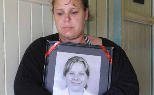 Maryborough's Cindy McNulty cherishes the photo of her daughter, Felicia Goodson, who took her own life in 2009.