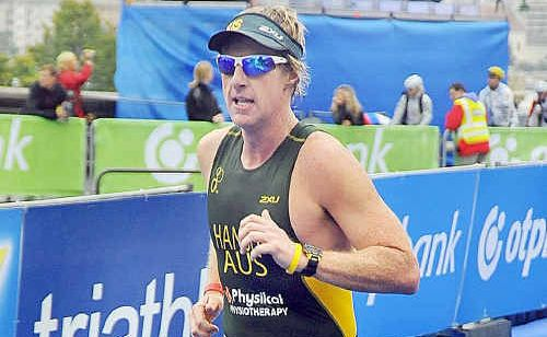 Maryborough teacher Pete Hansen performed well while representing Australia during the World Triathlon Championships in China.