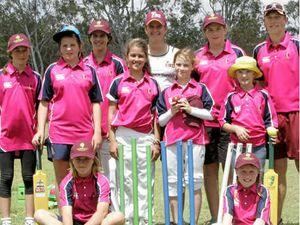 Cricket girls get fired up