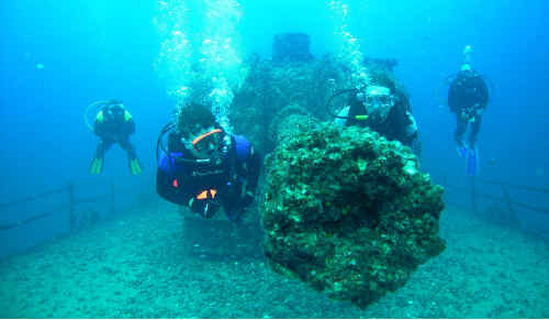05/11/09 186761 Diving the Ex-HMAS Brisbane with Scuba World Photo: courtesy of Scubaworld