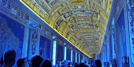 The Maps Gallery, in one of the Vatican Museums' 1500 rooms, contains the 'Google Maps of the era'.