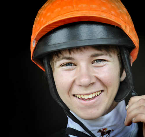 ONE FOR THE MONEY: Apprentice jockey Kirk Matheson will ride likely Iluka Cup favourite Darshan Joh at Grafton today. Photo: Adam Hourigan