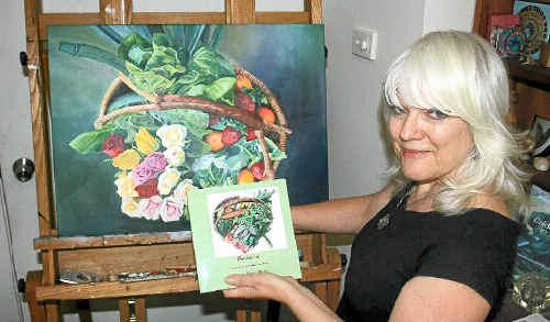FRESH: Karena Wynn-Moylan with her new book.