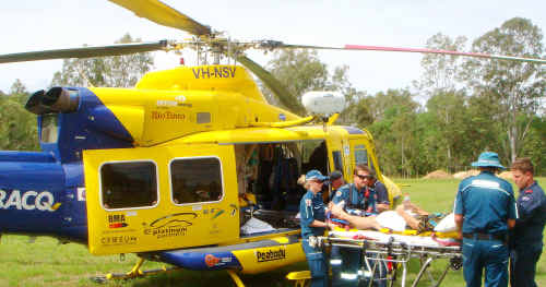 Waratah Coal may bring a third emergency rescue chopper online to service the Galilee Basin as it is opened up as a major mining province.