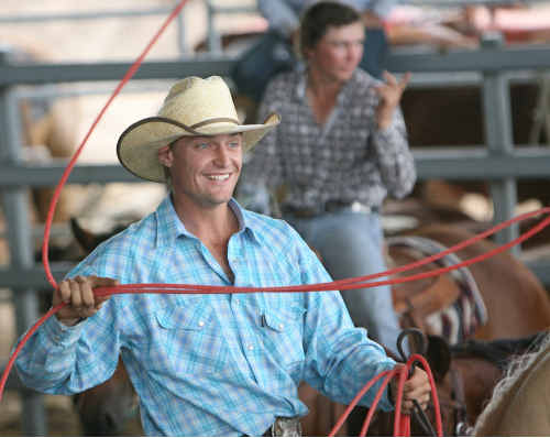 A modest Brody Moss teamed up Shane Kenny to claim the Australasian Team Roping Title in Capella.