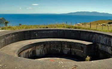 Stony Batter gun emplacement is one of many interesting sites on Waiheke Island.