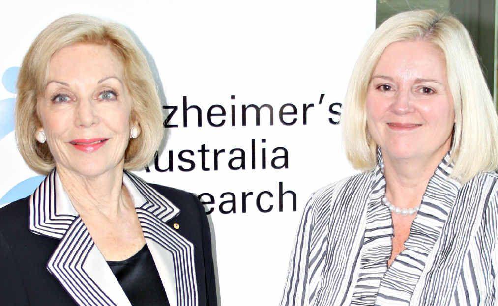 MESSAGE TO SHARE: MP Karen Andrews hopes that Alzheimer's Australia President, Ita Buttrose will visit the Coast.