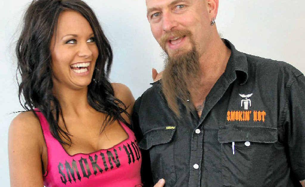 Miner Mick Ikin has had great success promoting his Smokin' Hot range of underwear.