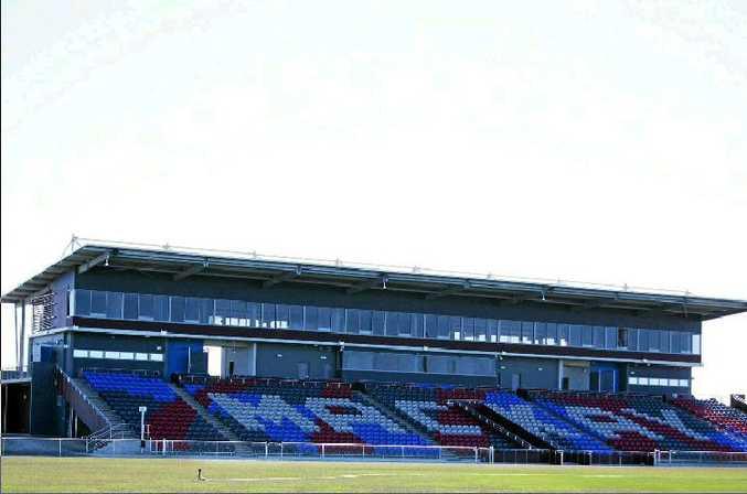 Mackay Stadium.