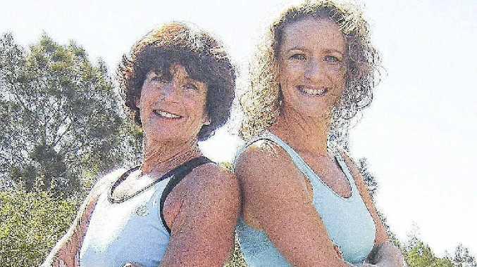 Jeannette James and her daughter Vicki James are running half marathons together.