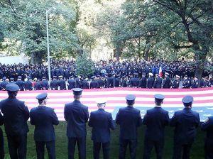 Firies visit Ground Zero