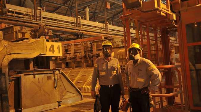 Boyne Smelter Alumina, Boyne Island; Reduction Line 1.