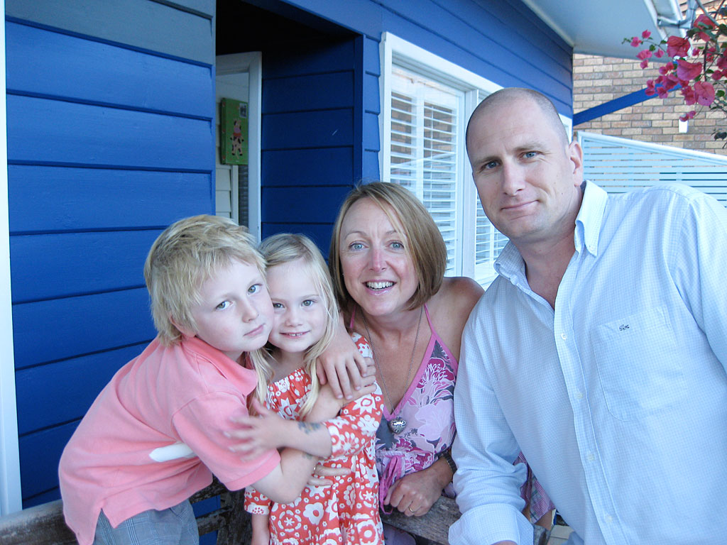 Linzi Smith and her family.