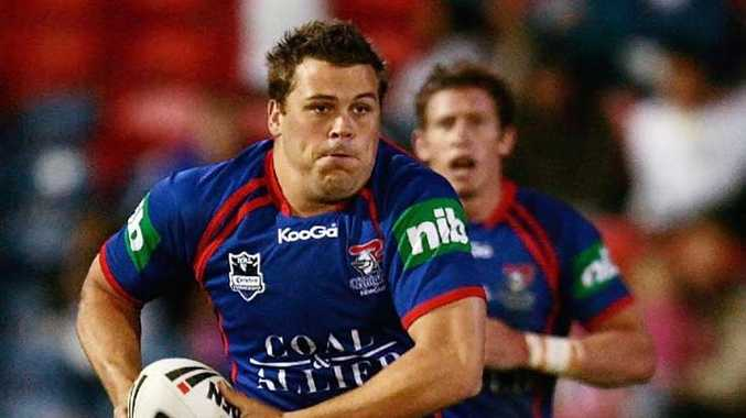 Danny Wicks in his Newcastle Knights playing days.