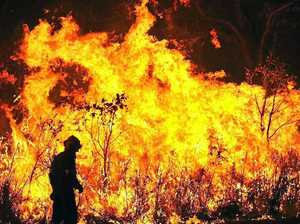 Bushfires biding their time