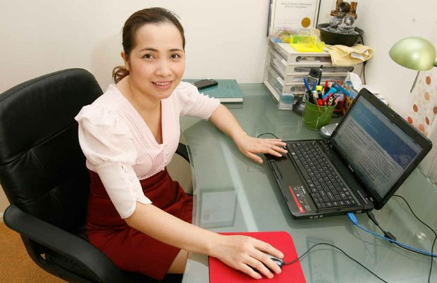 AnM Migration Services owner Trang Nguyen began her business as a registered migration agent last month.