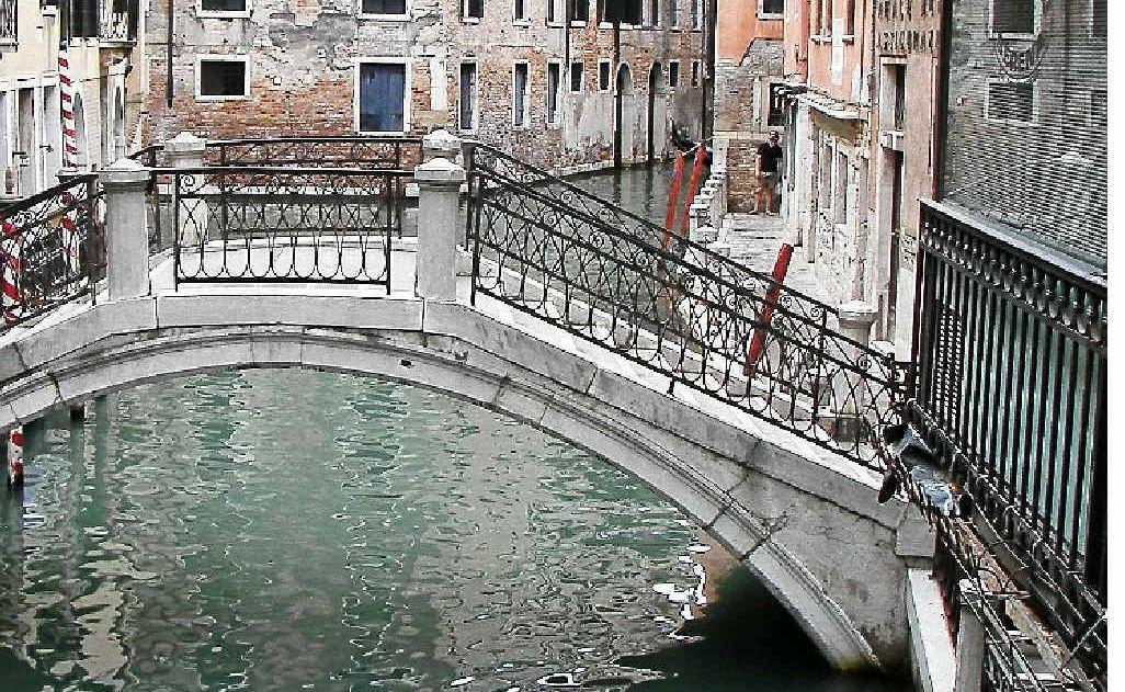 ABOVE: Getting lost in Venice.