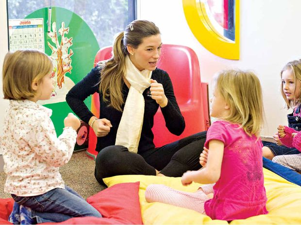Coast children can start their French lessons as young as 18 months.