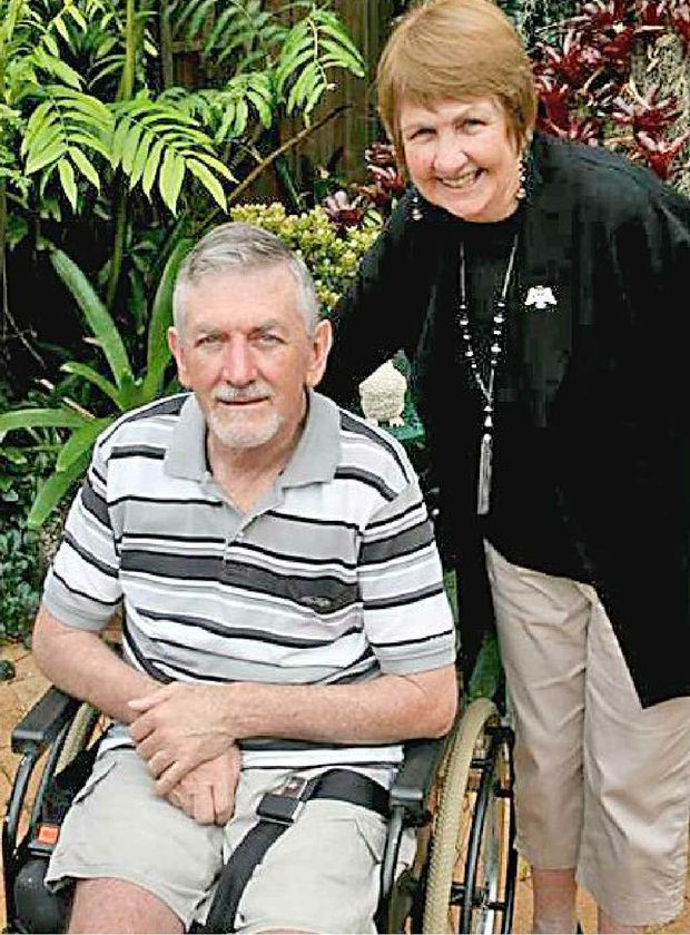 Peter Sullivan and his wife Eva would like to see a new approach to transporting people in wheelchairs.