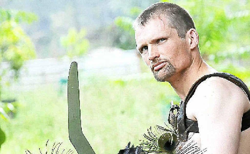 Roman gladiator Matthew Bryant of Rosebank will be among many gladiators appearing at the Italo-Australian Club on Sunday.