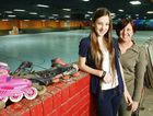 Ipswich Skateaway owner Deb Buttner is excited about getting her business back up and running after the floods and is proud of her skating champion daughter Vivica, 12.